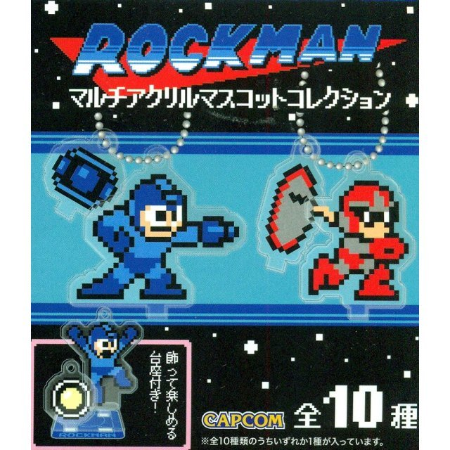 Mega Man Multi Acrylic Mascot Collection (Random Single)