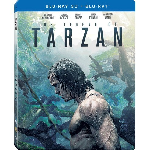 The Legend of Tarzan (3D) (2-Disc) (Steelbook)