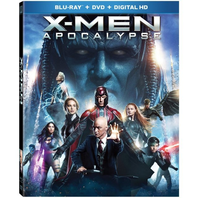X-Men: Apocalypse [Blu-ray+DVD+Digital HD]