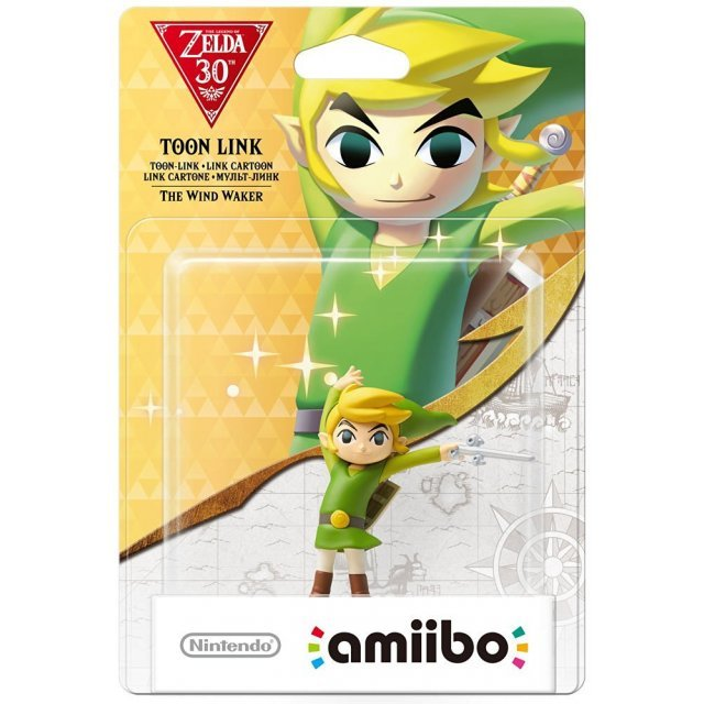 amiibo The Legend of Zelda: The Wind Waker 30th Anniversary Series (Toon Link)