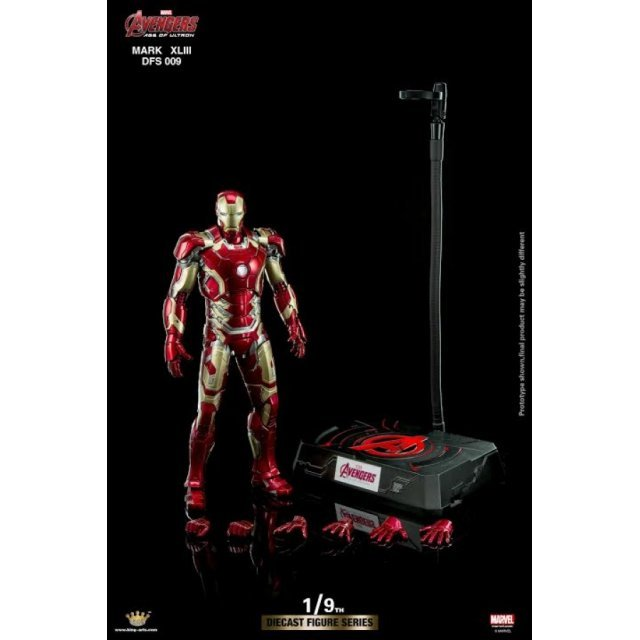 King Arts Iron Man 3 1/9 Diecast Figure Series: Iron Man Mark XLIII