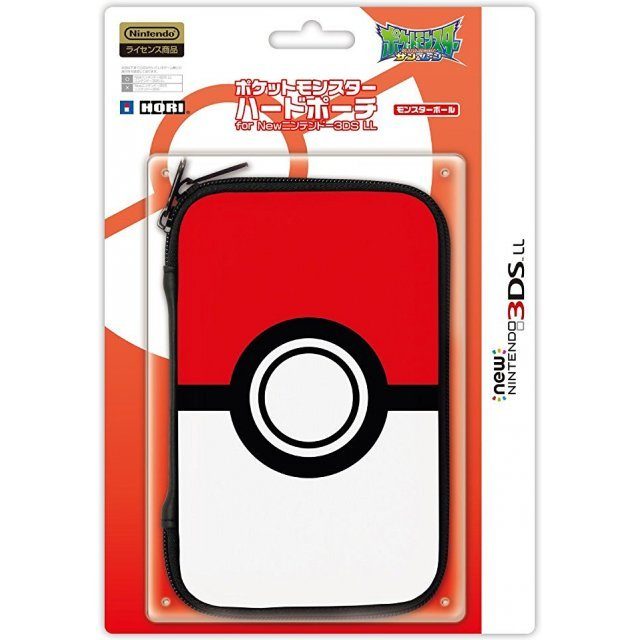 Pokemon Hard Pouch for New 3DS LL (Monster Ball)