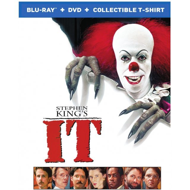 Stephen King's It (with Collectible t-shirt) [Blu-ray+DVD]