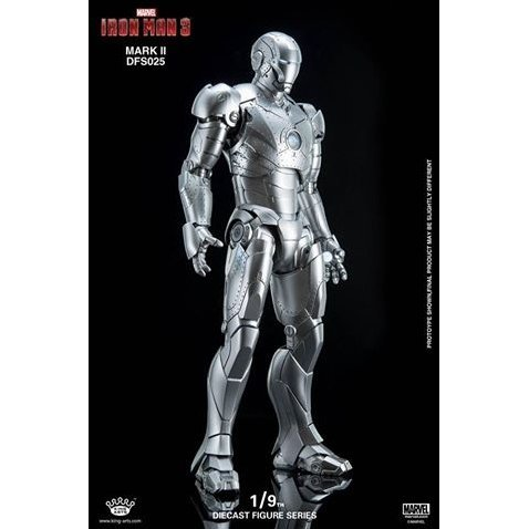 King Arts Iron Man 3 1/9 Diecast Figure Series: Iron Man Mark II