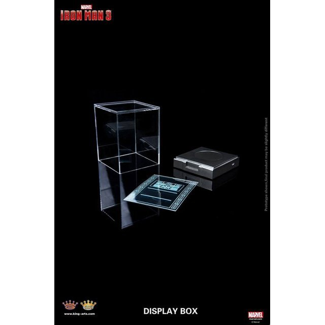King Arts Iron Man 3 Collectible Display Box