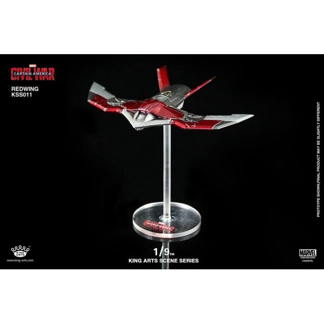 King Arts Scene Series Captain America Civil War: 1/9 Diecast Red Wing