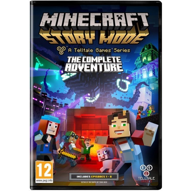 Minecraft: Story Mode - A Telltale Games Series - The Complete Adventure (DVD-ROM)
