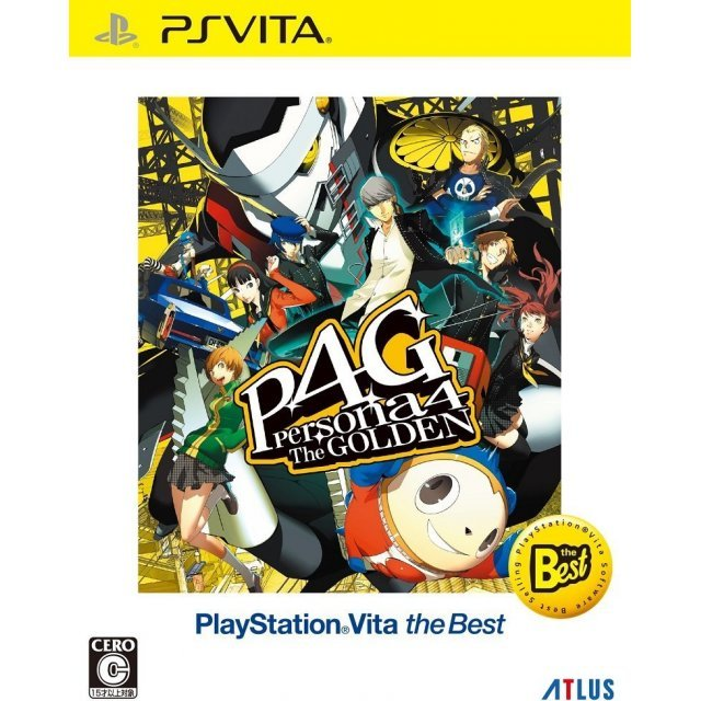 Persona 4: Golden (Playstation Vita the Best) (English)