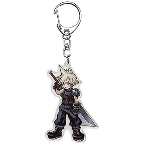 Dissidia Final Fantasy Acrylic Keychain: Cloud