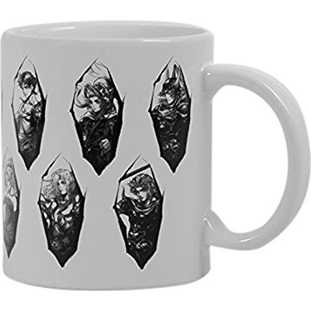 Dissidia Final Fantasy Mug White