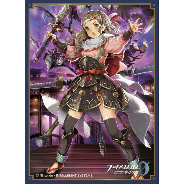 Fire Emblem Cipher Matte Card Sleeve No. FE40: Kazahana