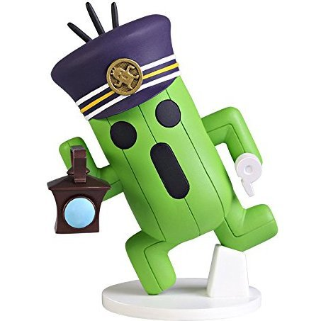 World of Final Fantasy Static Arts Mini Figure: Cactuar Conductor