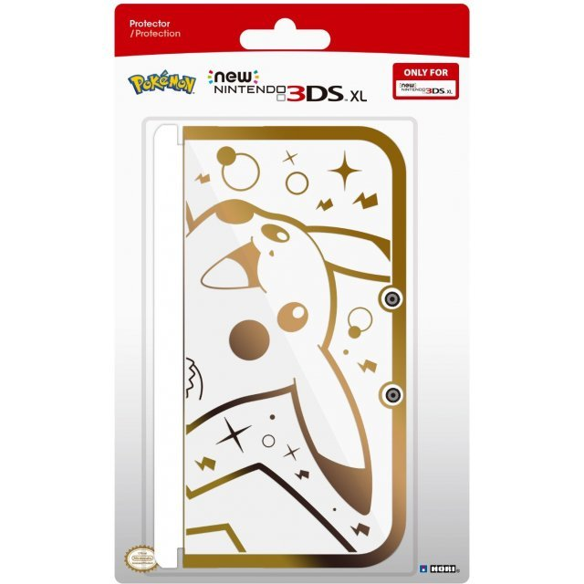 3DS XL Pikachu Gold Premium Protector