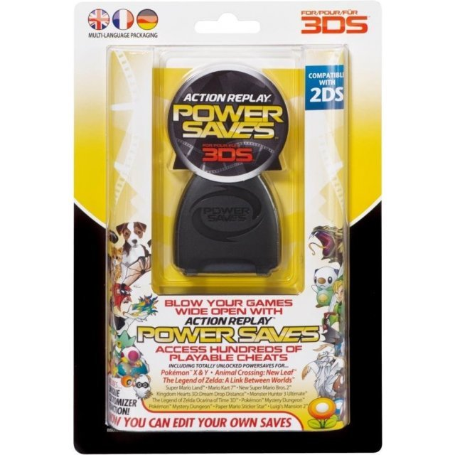 Action Replay Powersaves Cheat Device for 3DS Games