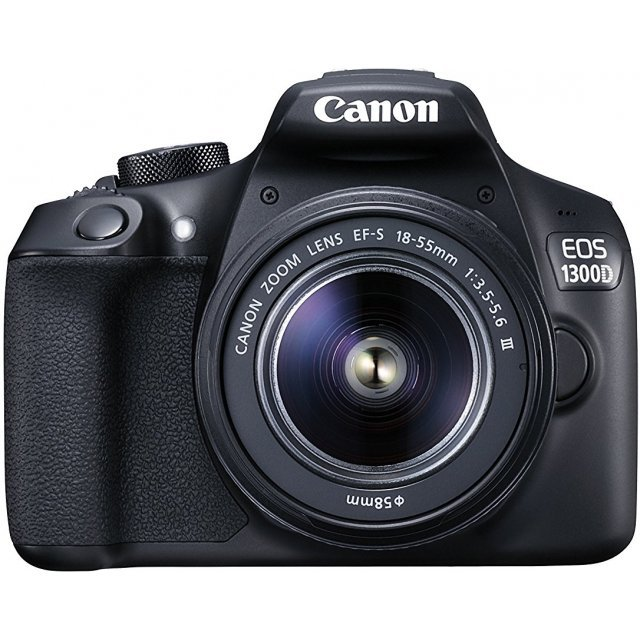 Canon EOS 1300D with EF-S 18-55mm DC III Lens