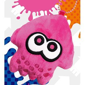 Splatoon Diecut Coin Case Pink