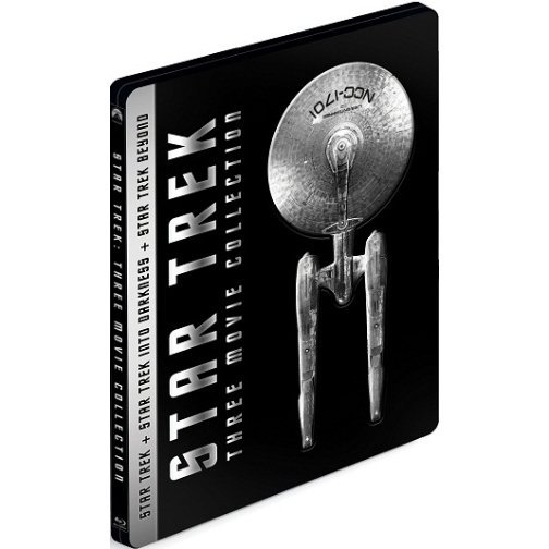 Star Trek Three-Movie Collection (3-Disc) (Steelbook Limited Edition)