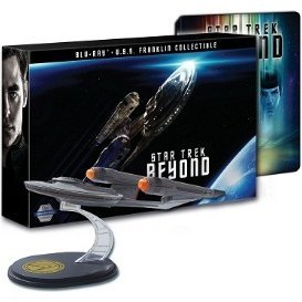 Star Trek Beyond 3D+2D  [Steelbook Limited Edition with USS Franklin Collectible Set]