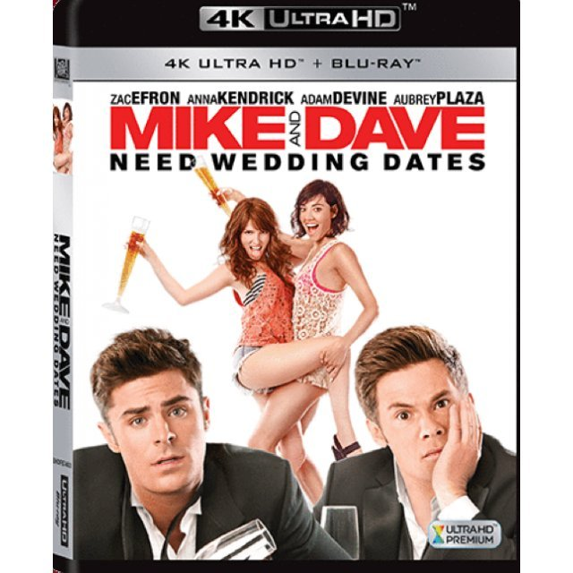 Mike And Dave Need Wedding Dates [4K UHD+BD]