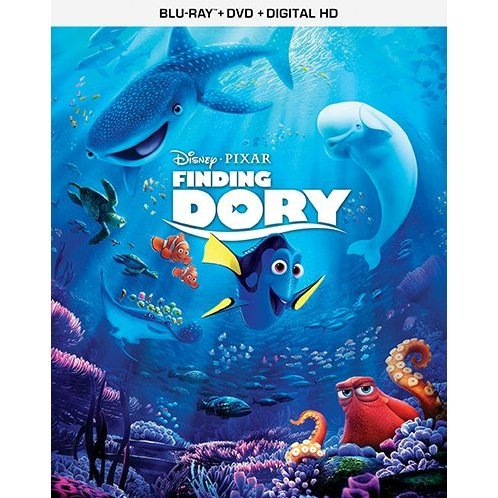 Finding Dory [Blu-ray+DVD+Digital HD]