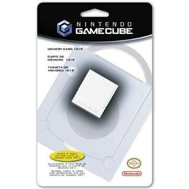 Gamecube Memory Card 1019 (64MB)