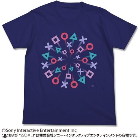 PlayStation T-shirt Navy: PlayStation Matsuri (M Size) (re-run)