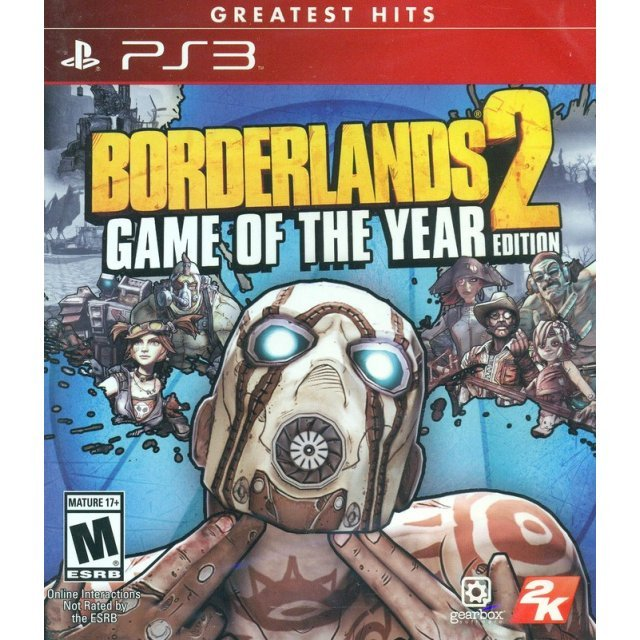 Borderlands 2 Game of the Year Edition (Greatest Hits)