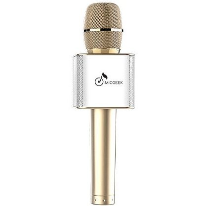 MicGeek Q9 Bluetooth Speaker Microphone (Gold)