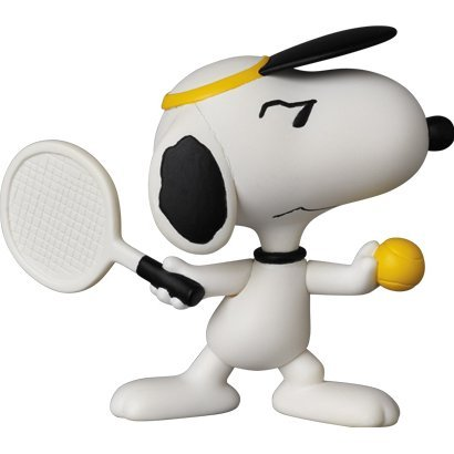 Peanuts Series 5 Ultra Detail Figure: Tennis Player Snoopy
