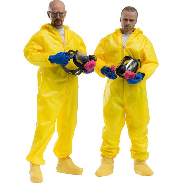 Breaking Bad 1/6 Scale Collectible Figure: Heisenberg & Jesse Hazmat Suit Combo