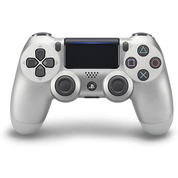 New DualShock 4 CUH-ZCT2 Series (Silver)