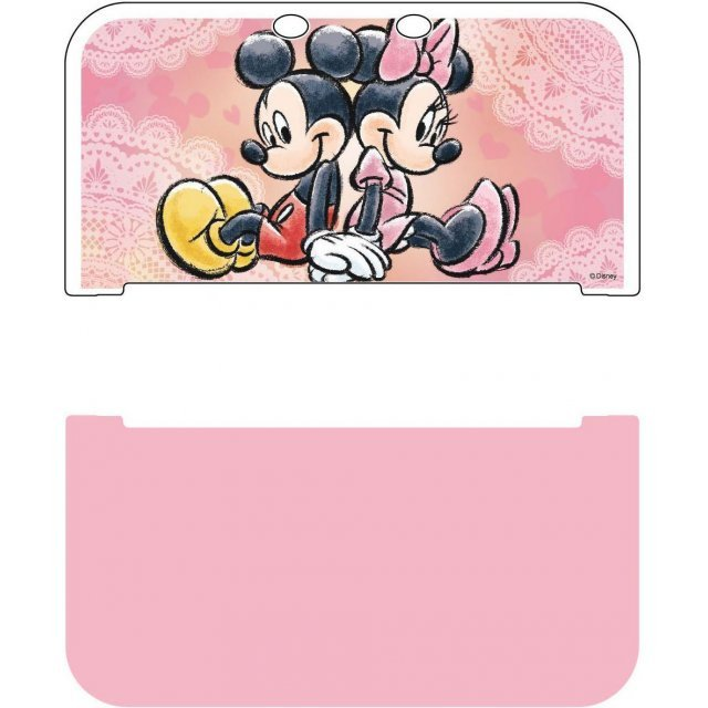 Hard Cover for New 3DS LL (Mickey & Minnie)