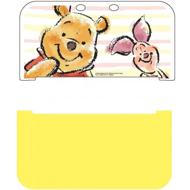 Hard Cover for New 3DS LL (Pooh & Piglet)