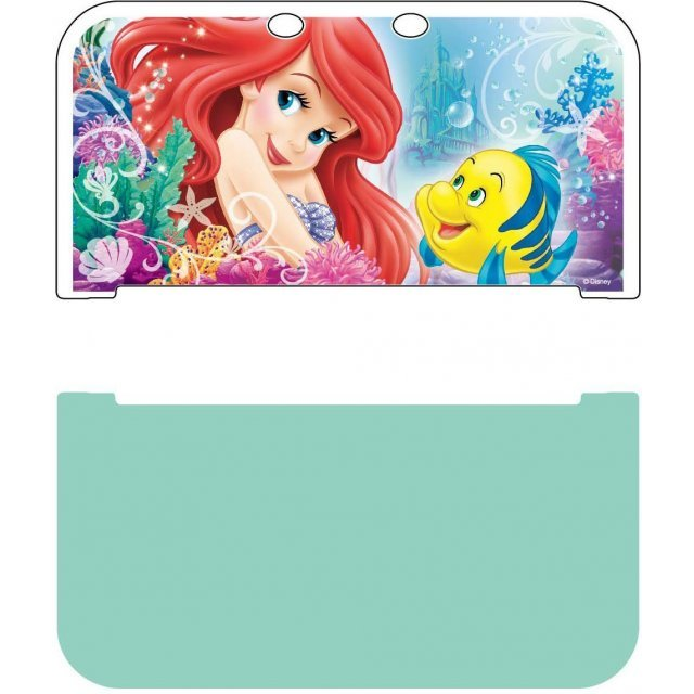 Hard Cover for New 3DS LL (Ariel & Flounder)