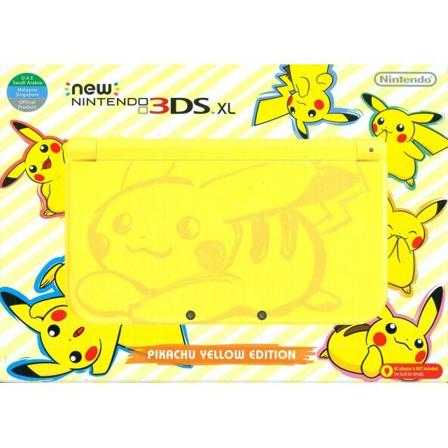 New Nintendo 3DS XL [Pikachu Edition] (Yellow)