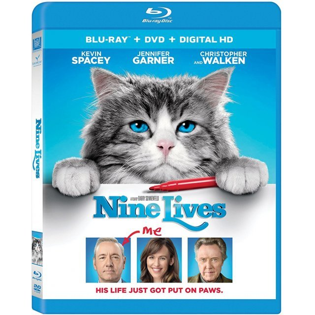 Nine Lives [Blu-ray+DVD+Digital HD]