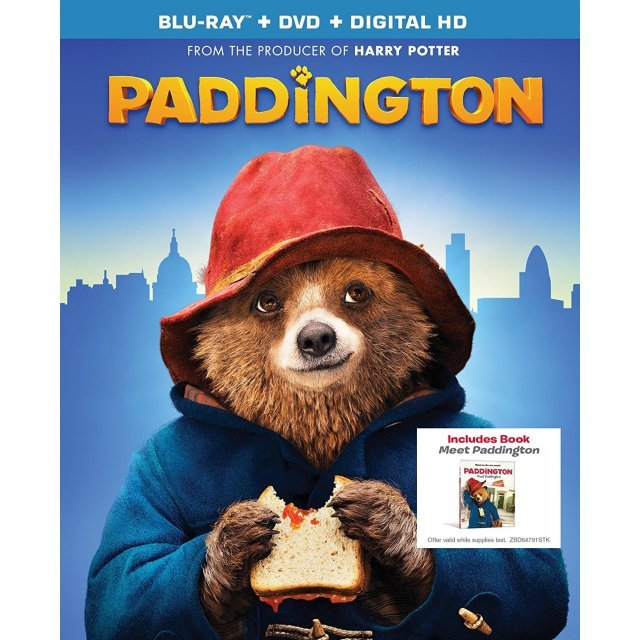Paddington [Blu-ray+DVD+Digital HD]
