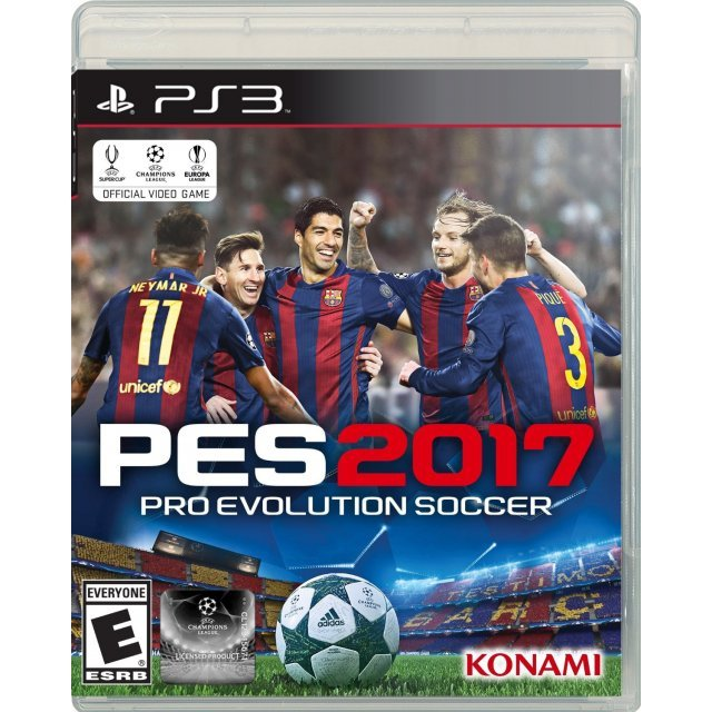 Pro Evolution Soccer 2017 (Spanish Texts Back Cover)