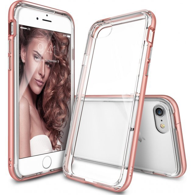 Ringke Frame iPhone 7 Case (Rose Gold)