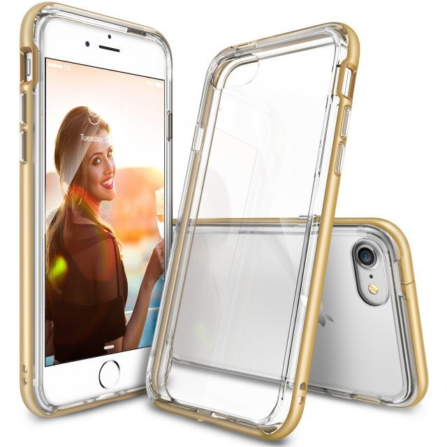 Ringke Frame iPhone 7 Plus Case (Royal Gold)