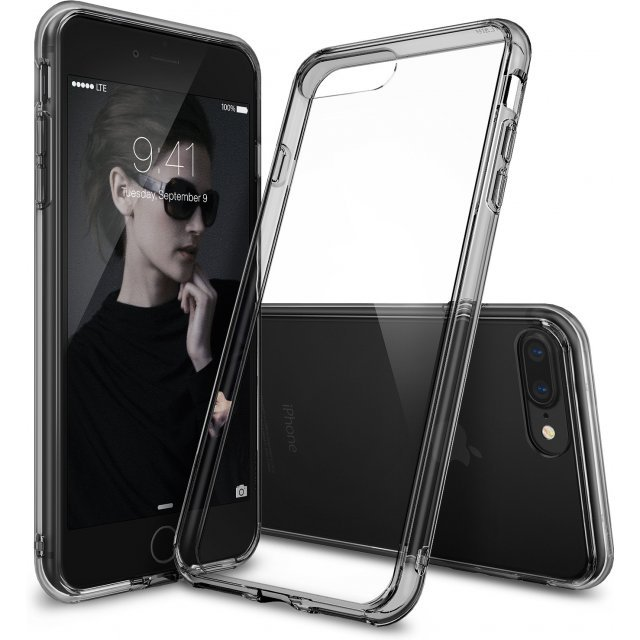 Ringke Fusion iPhone 7 Plus Case (Smoke Black)