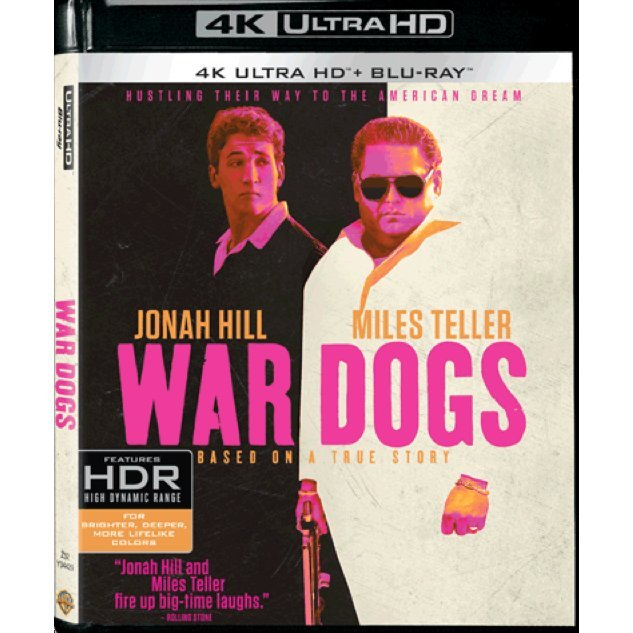War Dogs (4K UHD+BD)(2-DISC)