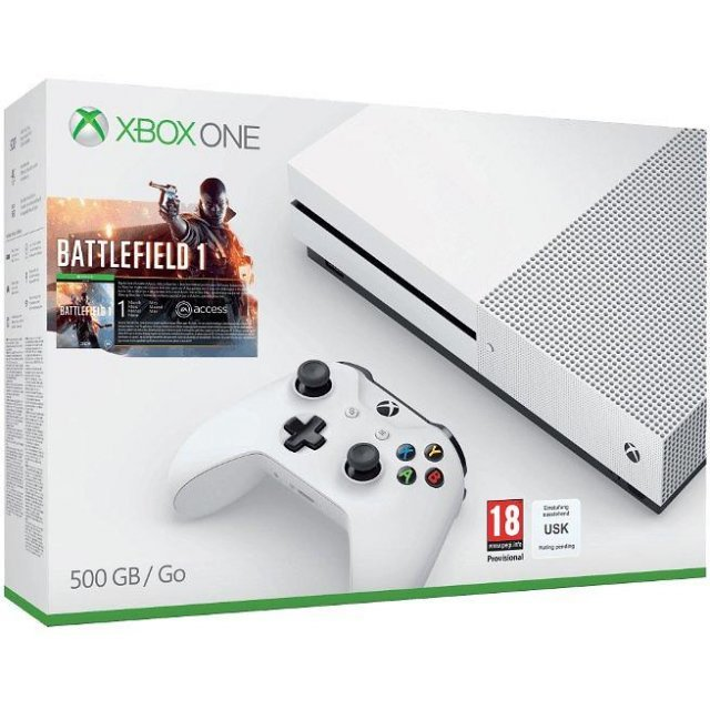 Xbox One S Battlefield 1 Bundle (500GB Console)