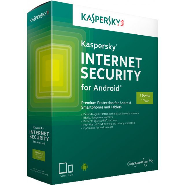 Kaspersky Internet Security for Android, 1 Year, 1 Device