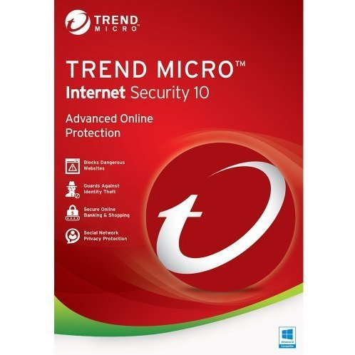 Trend Micro Internet Security 2016, 1 Year, 1 PC