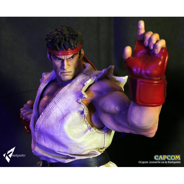Street Fighter 1/4 Scale Diorama: The Beast Unleashed - Ryu