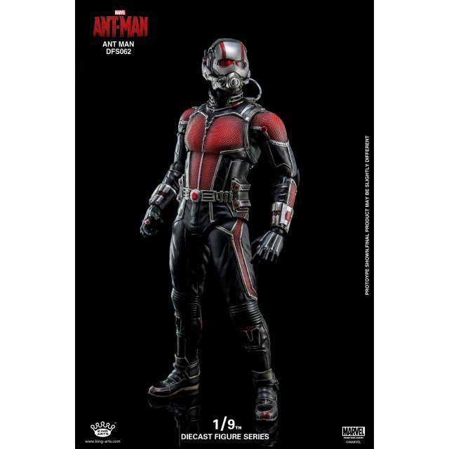 King Arts Ant Man 1/9 Diecast Figure Series: Ant Man