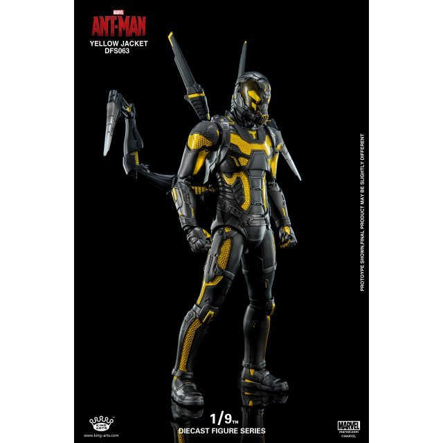 King Arts Ant Man 1/9 Diecast Figure Series: Yellow Jacket