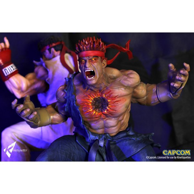 Street Fighter 1/4 Scale Diorama: The Beast Unleashed - Evil Ryu