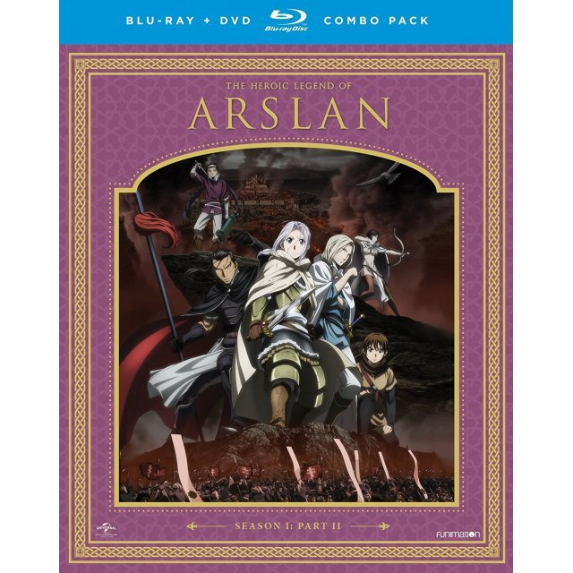The Heroic Legend of Arslan: Season One Part Two [Blu-ray+DVD]